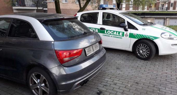 Cormano, identificato veicolo rubato grazie all'occhio attento di un cittadino