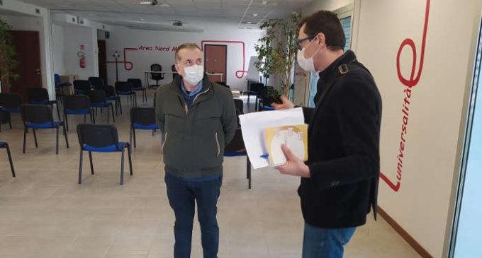 Cormano, Centro Vaccinale Temporaneo per gli over 80