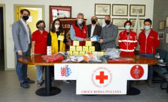Solidarietà, il Leo Club di Cinisello a sostegno della Croce Rossa locale