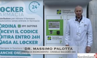 """Cinisello Balsamo: alla Farmacia Risorgimento arriva il servizio """"locker"""" per i medicinali (GUARDA IL VIDEO)"""