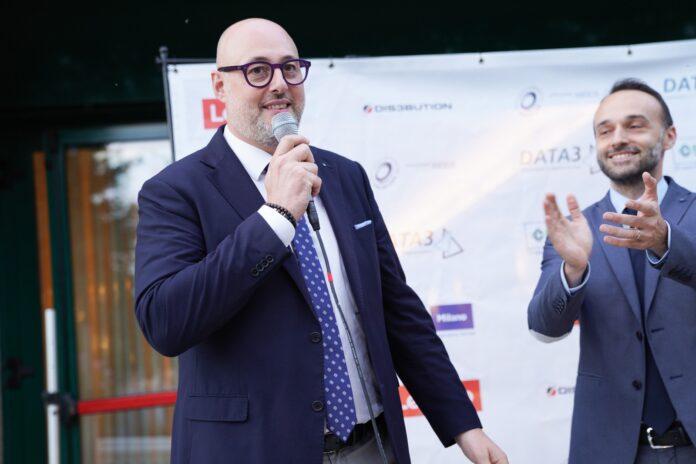 Rocco Bronte e il presidente di Ainm, Davide Roccaro