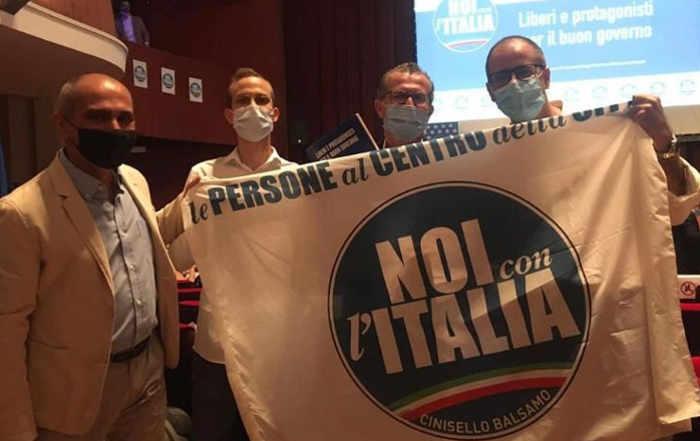 La delegazione cinisellese a Roma
