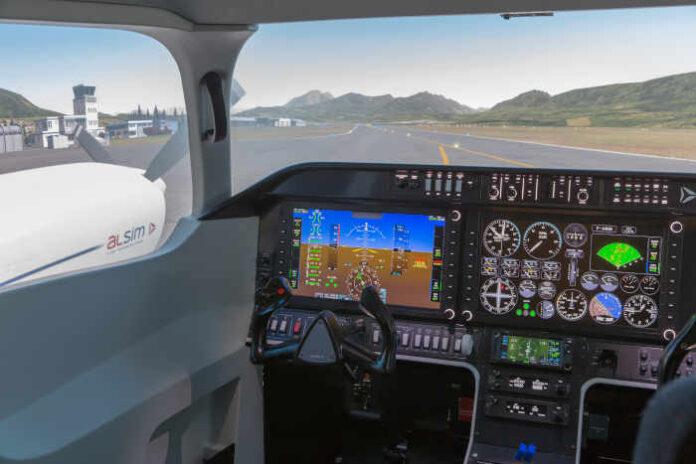 il nuovo simulatore di volo