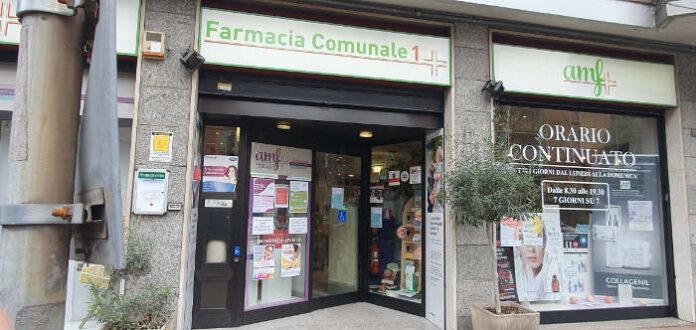 La farmacia comunale di viale Rinascita