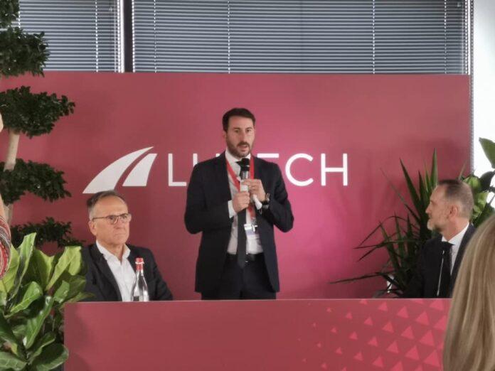 Il sindaco Giacomo Ghilardi in visita presso il nuovo quartier generale del Gruppo Lutech