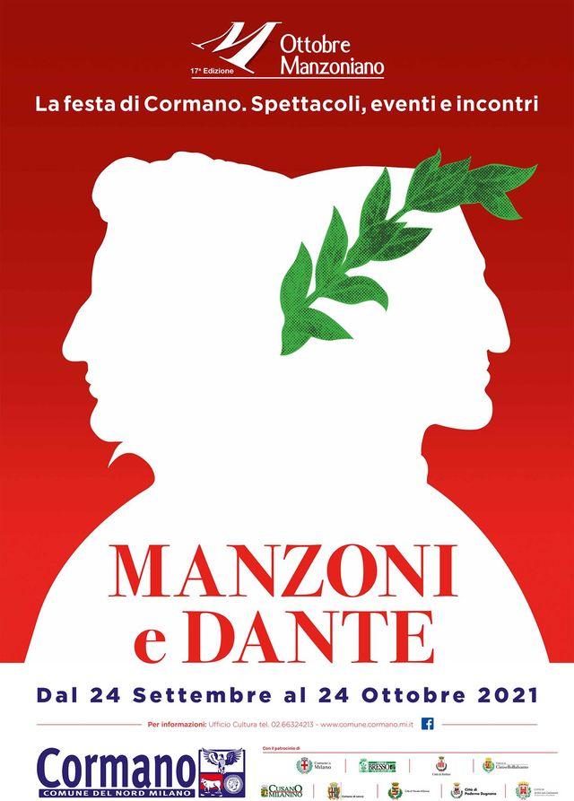 Il manifesto della kermesse dedicata a Manzoni