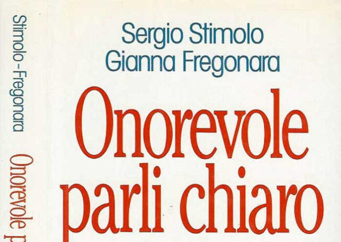 La copertina del libro scritto da Sergio Stimolo con Gianni Fregonara